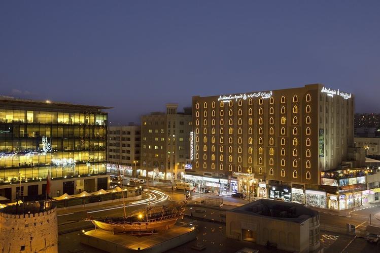 Exteriores Arabian Courtyard Hotel & Spa Bur Dubai