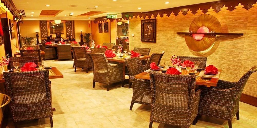 Restaurante chino y tailandés Silk Route Arabian Courtyard Hotel & Spa Bur Dubai